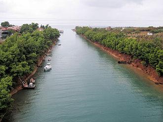 Nea Poteidaia - Potidea Kanal