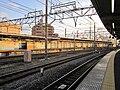 Kanegafuchi Station platform.jpg