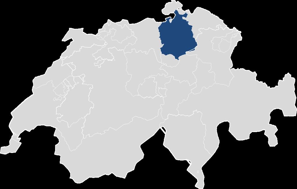 File Kanton Z U00fcrich Auf Der Schweizer Karte Png