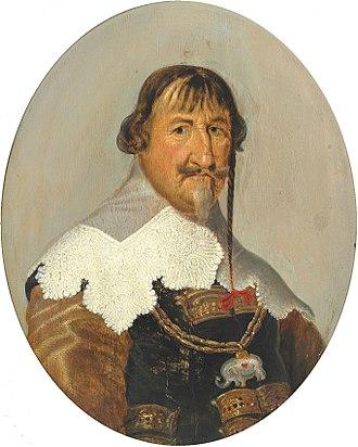 Lovelock (hair) - King Christian IV of Denmark