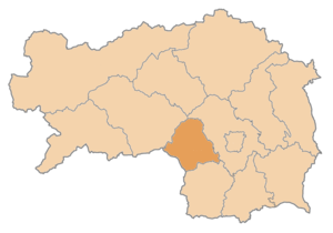 Voitsberg District - Image: Karte Aut Stmk VO