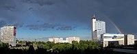 Katowice - Panorama z tęczą.jpg