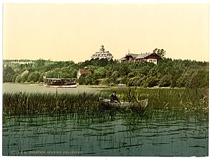Kellersee - The Kellersee between 1890 and 1905