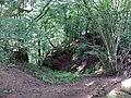 Kemp's Castle area, River Lugar, Ochiltree, East Ayrshire.jpg