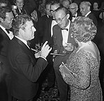 Kenneth More, Prince Bernhard and Queen Juliana 1969.jpg