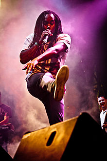 Kevin Mark Trail of The Streets live at Parklife, Sydney 2011.jpg