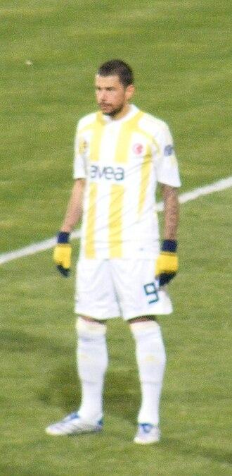 Mateja Kežman - Kežman with Fenerbahçe in 2008