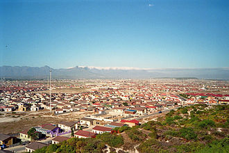 Khayelitsha - View from Khayelitsha Lookout Hill over Ilitha Park