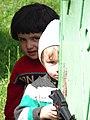 Kids at Gate - Village of Kis - Near Sheki - Azerbaijan (18082661639).jpg