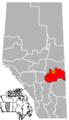 Killam, Alberta Location.png