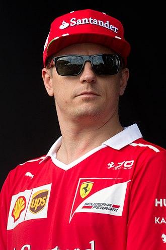 Kimi Räikkönen - Image: Kimi Raikkonen 2017 Malaysia 2