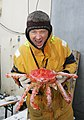 King Crab And Fisherman Near Arctic Ocean - NOAA Photo Library.jpg