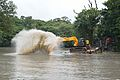 Kings Lake Dredging - Banyan Avenue - Indian Botanic Garden - Howrah 2013-10-27 3848.JPG