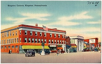Kingston, Pennsylvania - Kingston in the early 20th century