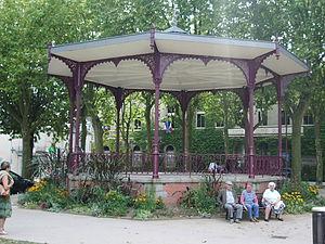La Roche-sur-Yon - Image: Kiosque Place Napoléon