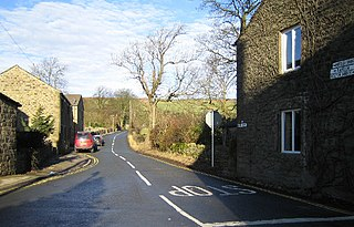 Embsay Village in North Yorkshire, England