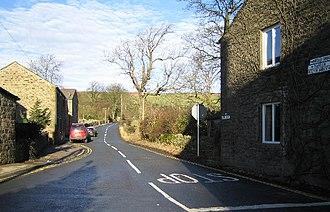 Embsay - Image: Kirk Lane at Green Bottom, Embsay geograph.org.uk 110037