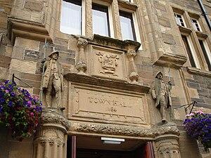 Kirkwall - Kirkwall Town Hall exterior