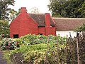 Kitchen garden of Kennixton Farmhouse - St Fagans National History Museum.jpg