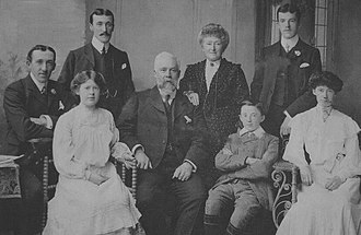 William Kitto - A picture of the Kitto family (circa 1905)