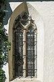 Klagenfurt Seltenheim Filialkirche hl Andreas S-Seite Spitzbogenenster 05102015 1630.jpg