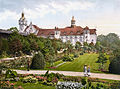 Kolberg Strandschloss Rosengarten 1900.jpg