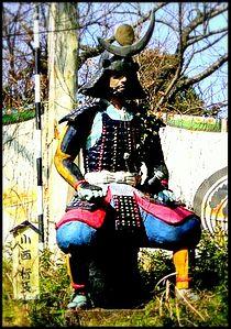 Konishi Yukinaga figure in Japan.JPG
