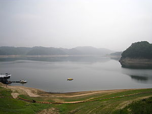 Nakdong River - The Nakdong in Andong, North Gyeongsang