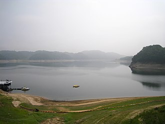 Nakdong River - The Nakdong in Andong, North Gyeongsang