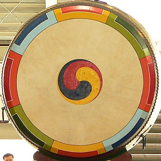 Traditional Korean musical instruments - Buk, Korean traditional drum