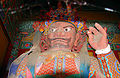 Korea-Gangwon-Woljeongsa Heavenly King 1690-07.JPG