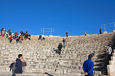 Kourion theatre southeast from stage 2010.jpg