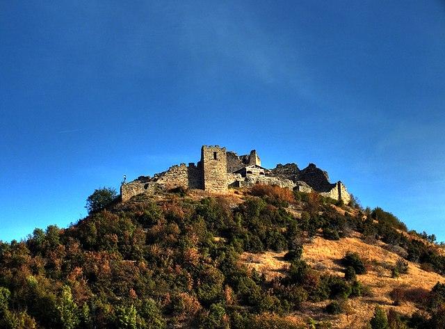 Medieval town of Koznik near Brus, by Mladen Tošev