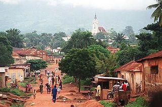 Kpalimé Place in Plateaux Region, Togo