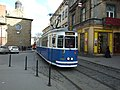 Krakov, Stare Miasto, ulice Dominikańska, tramvaj II.JPG