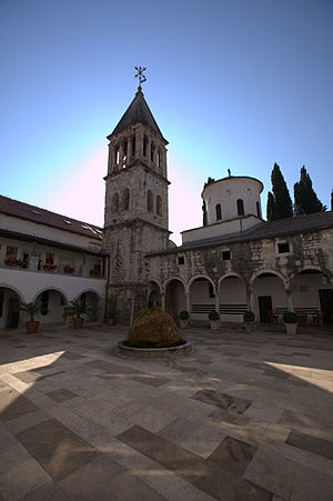 Eparchy of Dalmatia - Serbian Orthodox Monastery Krka