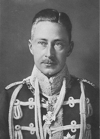 House of Hohenzollern - Image: Kronprinz Wilhelm 1. Leib Husarenregiment