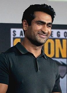 Kumail Nanjiani Pakistani American actor and stand-up comedian