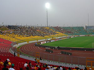 Ghana national football team - Kumasi Sports Stadium