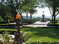 Kykuit, Tarrytown, NY - view from entrance.JPG