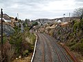 Kyle of Lochalsh station approach, Ross and Cromarty - view north-east.jpg