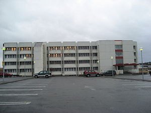 University of Iceland - Læknagarður, which houses the Faculty of Medicine