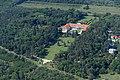 Légi felvétel, Zichy-kastély (Vajta).jpg