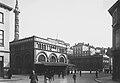 L'ancien marché couvert et la place du Marché du Parc pendant la Première Guerre mondiale.jpg
