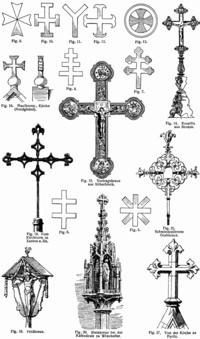 У этого термина существуют и другие значения, см. Крест (значения).  Эта статья или раздел нуждается в переработке.