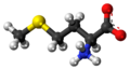 L-Methionine zwitterion ball.png