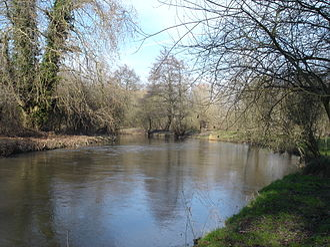 Bresle (river) - The Bresle at Bouvaincourt-sur-Bresle