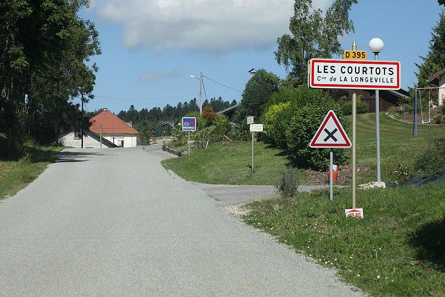 Entrée de La Longeville (Doubs).