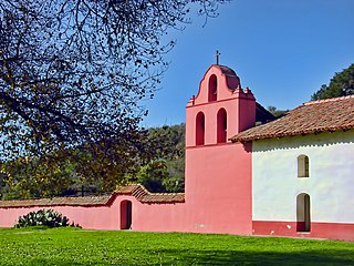 La Purisima Mission place in California listed on National Register of Historic Places