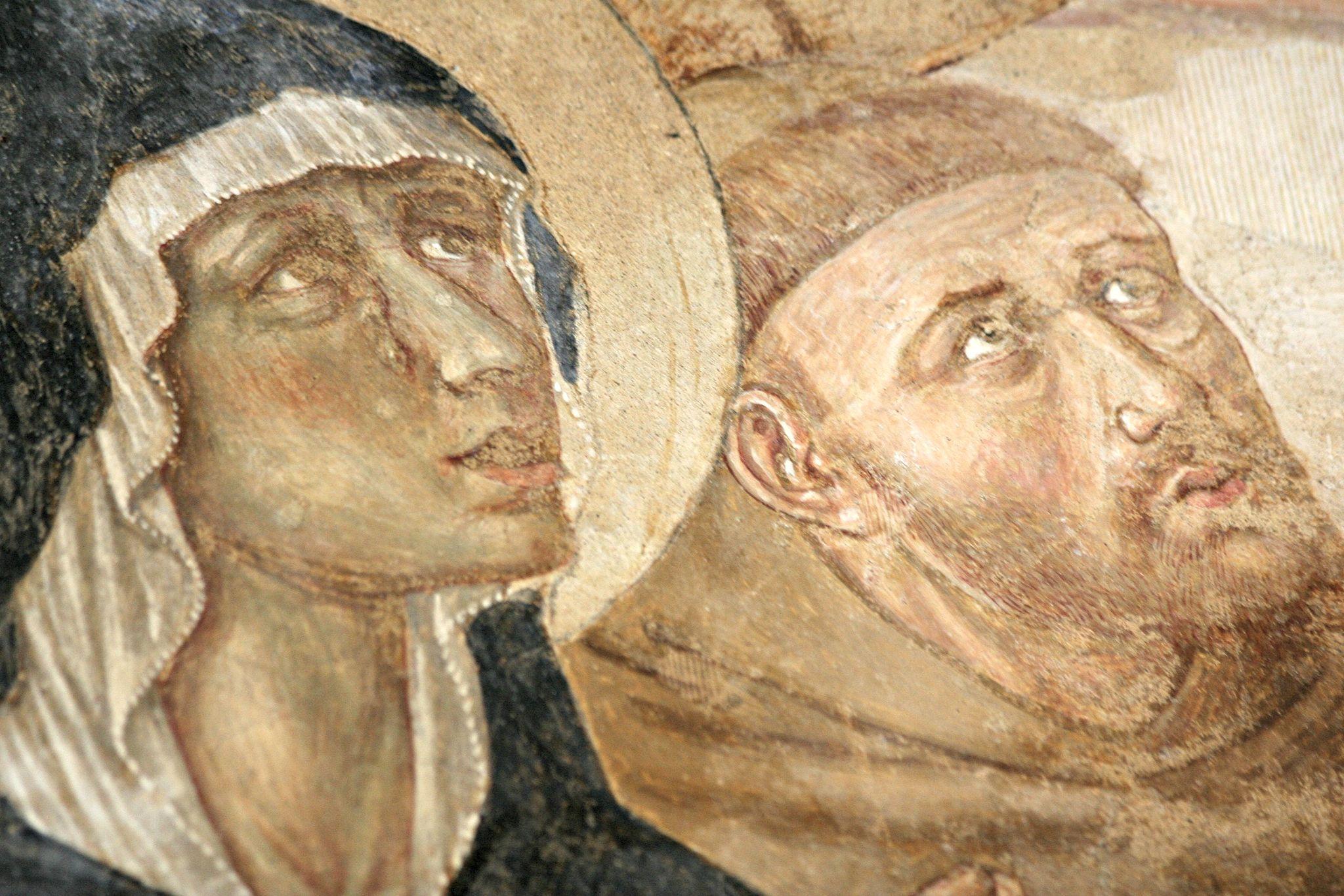 La Vergine e San Francesco di Benozzo Gozzoli, 1479-80